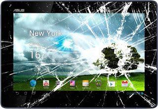 Tablet ekranı kırıldı garantiye girermi?