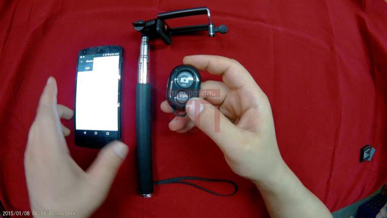 Bluetooth selfie çubugu nasıl kullanılır