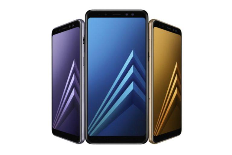Samsung A8'i duyurdu