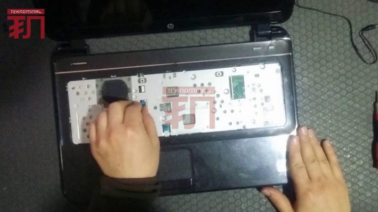 HP Pavilion Ultrabook nasıl sökülür