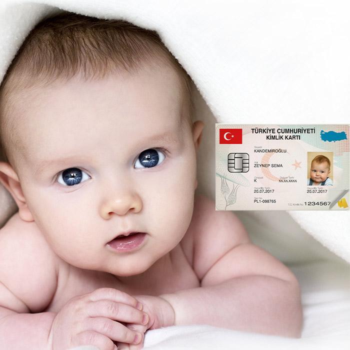 Yeni doğan bebek kimliği nasıl çıkarılır