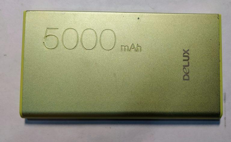 Delux MP-01 5000 mAh Powerbank